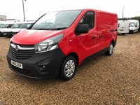 USED 2015 65 VAUXHALL VIVARO 1.6 2700 L1H1 CDTI P/V 1d 114 BHP AIR CONDITIONING FULL SERVICE HISTORY ONE OWNER