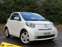 USED 2010 10 TOYOTA IQ 1.3 VVT-I IQ3 3d 97 BHP FULL AA 128 POINT INSPECTION