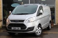 2017 FORD TRANSIT CUSTOM 2.0 270 LIMITED LR P/V 1d 129 BHP £14700.00