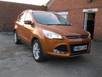 2015 FORD KUGA 2.0 TITANIUM X TDCI 5d AUTO 177 BHP  £14750.00