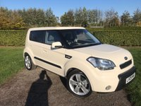 USED 2009 09 KIA SOUL 1.6 SHAKER 5d 125 BHP Full Kia History Reverse Camera Sunroof Full Kia Main Dealer Service History, MOT 11/19, Recently Serviced, Sunroof, Reverse Camera, X2 Keys, Unmarked Alloys, Only One Lady Owner, X4 Elec Windows, Elec Mirrors, Limited Edition Soul Shaker, Dog Tooth Check Interior, Aircon, Cd/Stereo/Aux In/USB Sockets, Low Mileage, Unbelievably Clean And Tidy Example, You Will Not Be Dissapointed, Looks And Drives Perfectly!,