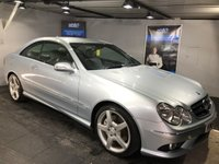 USED 2007 57 MERCEDES-BENZ CLK 2.1 CLK220 CDI SPORT 2d 148 BHP Full leather upholstery :  Climate Control/Air-Conditioning   :   Cruise Control   :   Paddleshift Controls