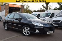 USED 2009 59 PEUGEOT 407 1.6 SW SR HDI 5d 108 BHP PART EXCHANGE TO CLEAR, SORRY NO AA INSPECTION OR WARRANTY WITH THIS CAR, SOLD AS SEEN. MOT UNTIL MARCH 2019, HPI CLEAR.