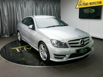 2012 MERCEDES-BENZ C CLASS 2.1 C220 CDI BLUEEFFICIENCY AMG SPORT 2d 170 BHP £8500.00