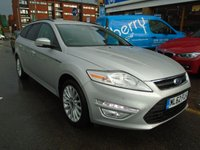 USED 2012 62 FORD MONDEO 2.0 ZETEC BUSINESS EDITION TDCI 5d 138 BHP