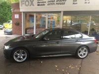 USED 2017 17 BMW 3 SERIES 2.0 320D M SPORT 4d AUTO 188 BHP EXCELLENT VALUE BMW 320D MSPORT AUTO SALOON