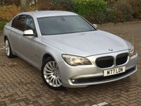 2012 BMW 7 SERIES 3.0 730LD M SPORT 4d AUTO 242 BHP £14695.00