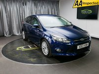 USED 2013 13 FORD FOCUS 1.0 ZETEC 5d 124 BHP £0 DEPOSIT FINANCE AVAILABLE, AIR CONDITIONING, AUX INPUT, BLUETOOTH CONNECTIVITY, CLIMATE CONTROL, DAB RADIO, ECONETIC TECHNOLOGY, START/STOP SYSTEM, STEERING WHEEL CONTROLS, TRIP COMPUTER, USB CONNECTION