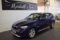 USED 2011 60 BMW X1 2.0 XDRIVE20D SE 5d 174 BHP 4X4  LOW MILES - XDRIVE 4X4 - OYSTER NEVADA LEATHER - S/H TO 48K MILES - ONE OWNER