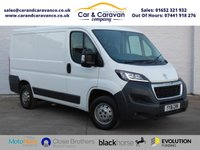 USED 2016 16 PEUGEOT BOXER 2.0 BLUE HDI 333 L1H1 PROFESSIONAL P/V 1d 110 BHP One Owner Full Dealer History Buy Now, Pay Later Finance!