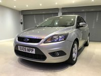 USED 2009 09 FORD FOCUS 1.6 ZETEC 5d 100 BHP FULL FORD SERVICE HISTORY + IMMACULATE CONDITION