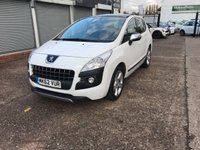 USED 2012 62 PEUGEOT 3008 1.6 ALLURE HDI FAP 5d 112 BHP DIESEL-PAN ROOF-1 FORMER KEEPER-CLIMATE CONTROL-REAR PARKING SENSORS-BLUETOOTH