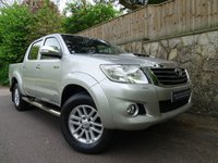 2014 TOYOTA HI-LUX 3.0 INVINCIBLE 4X4 D-4D DCB 1d 169 BHP DOUBLE CAB PICK UP £12995.00
