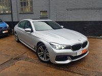 2017 BMW 7 SERIES 3.0 740LI M SPORT 4d AUTO 322 BHP £34995.00