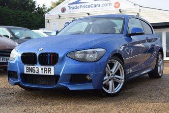 2014 BMW 1 SERIES 2.0 116D M SPORT 3d 114 BHP £9950.00