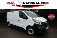 2015 VAUXHALL VIVARO 1.6 2900 L2 H1 CDTI P/V 115 BHP  LWB (one owner new shape) £8789.00