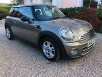 USED 2012 12 MINI HATCH ONE 1.6 ONE 3d 98 BHP