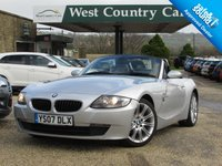 USED 2007 07 BMW Z4 2.5 Z4 SI SPORT ROADSTER 2d 215 BHP Well Cared For Z4 2.5SI