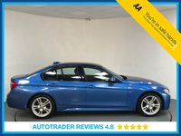 USED 2016 66 BMW 3 SERIES 2.0 320D M SPORT 4d 188 BHP SERVICE HISTORY - EURO 6 - 1 OWNER - SAT NAV - LEATHER - REAR SENSORS - BLUETOOTH - AIR CON - DAB