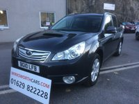 USED 2010 10 SUBARU OUTBACK 2.0 D SE 5d 150 BHP *STUNNING**F.S.H**ALLOYS**DIESEL 4x4**BLACK LEATHER*