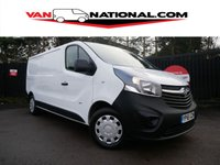 2015 VAUXHALL VIVARO 1.6 2900 L2 H1 CDTI P/V 115 BHP (ONE OWNER LWB NEW SHAPE) £9395.00