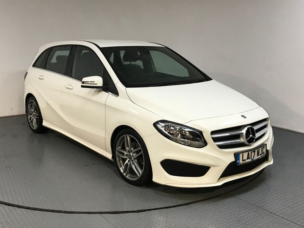 USED 2017 17 MERCEDES-BENZ B CLASS 2.1 B 200 D AMG LINE 5d AUTO 134 BHP SERVICE HISTORY - 1 OWNER - HALF LEATHER - REAR CAMERA - BLUETOOTH - AIR CON - CRUISE - KEYLESS GO