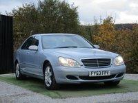USED 2003 MERCEDES-BENZ S CLASS 3.2 S320 CDI L 4d AUTO 204 BHP