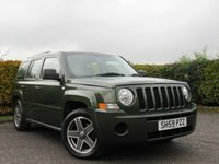 USED 2009 59 JEEP PATRIOT 2.0 SPORT CRD 5d * 4WD * BUILT IN BLUETOOTH *