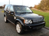 2011 LAND ROVER DISCOVERY 3.0 4 SDV6 HSE 5d AUTO 245 BHP £19990.00