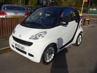 2010 SMART FORTWO 1.0 PASSION MHD 2dr, Automatic £3820.00