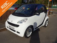 USED 2010 60 SMART FORTWO 1.0 PASSION MHD 2dr, Automatic YES ONLY 52,000 MILES FROM NEW, £0 ROAD TAX