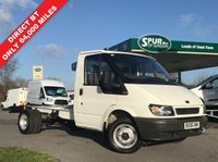 USED 2006 06 FORD TRANSIT 2.4 350M 1d 90 BHP CHASSIS CAB Direct BT, Only 64,000 Miles, Chassis Cab, Service History.