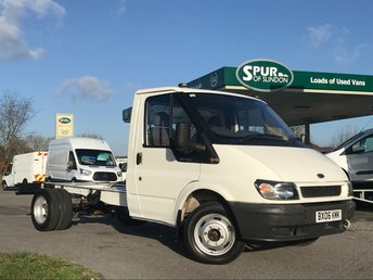 2006 FORD TRANSIT 2.4 350M 1d 90 BHP CHASSIS CAB £SOLD
