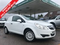 USED 2010 60 VAUXHALL CORSA 1.2 SWB CDTI 1d 73 BHP Direct BT, Air Con, Only 49,000 Miles, Finance Arranged, One Owner.