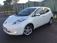 2011 NISSAN LEAF 0.0 EV AUTO 5d AUTO 107 BHP ONE SAT NAV CHARGING CABLE INCLUDED OWNER FSH £7990.00