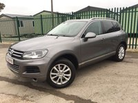 2010 VOLKSWAGEN TOUAREG 3.0 V6 SE TDI BLUEMOTION TECHNOLOGY 5d AUTO 237 BHP SAT NAV LEATHER FSH £13490.00