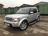 2009 LAND ROVER DISCOVERY 3.0 4 TDV6 XS 5d AUTO 245 BHP SAT NAV LEATHER SIDE STEPS FSH £13490.00