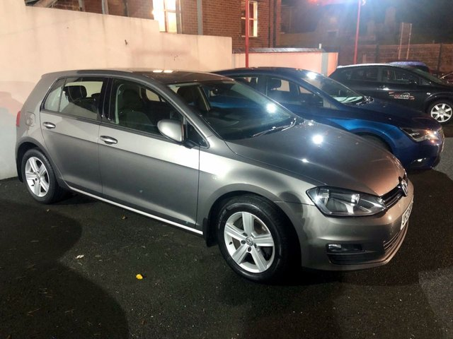2014 VOLKSWAGEN GOLF 1.6 MATCH TDI BLUEMOTION TECHNOLOGY 5d 103 BHP