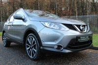 USED 2014 64 NISSAN QASHQAI 1.6 DCI TEKNA 5d 128 BHP A STUNNING HIGH SPECIFICATION QASHQAI WITH A FULL NISSAN HISTORY!!!