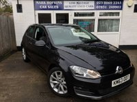 USED 2013 63 VOLKSWAGEN GOLF 2.0 GT TDI BLUEMOTION TECH 51K DEMO +1 LADY OWNER HIGH SPEC MODEL ONLY £20/YR TAX EXC CONDITION