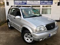 USED 2004 53 SUZUKI GRAND VITARA 2.0 5d AUTO UNIQUE OPPORTUNITY 25,040 MILES ONLY FSH 2OWNERS EXCELLENT CONDITION