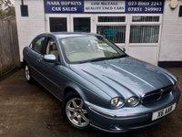 USED 2003 X JAGUAR X-TYPE 2.1 V6 SE 4d AUTO 157 BHP UNIQUE OPPORTUNITY JUST 18,795 MILES FSH OUTSTANDING CONDITION