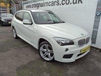2011 BMW X1 2.0 XDRIVE23D M SPORT 5d AUTO 201 BHP £12995.00