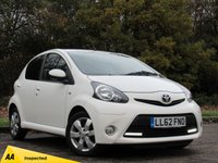 USED 2012 62 TOYOTA AYGO 1.0 VVT-i Fire 5dr LOW MILEAGE STARTER CAR