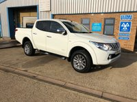 USED 2016 16 MITSUBISHI L200 2.4 DI-D 4X4 TITAN DCB 1d 178 BHP DOUBLE CAB PICK UP OWN THIS TRUCK TODAY UNDER MANUFACTURERS WARRANTY !!!!!
