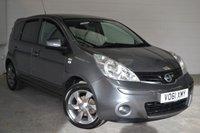 2011 NISSAN NOTE 1.4 N-TEC 5d 87 BHP £3400.00