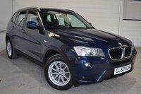 2011 BMW X3 2.0 XDRIVE20D SE 5d AUTO 181 BHP £11500.00