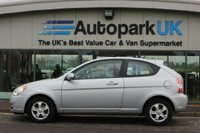 USED 2006 56 HYUNDAI ACCENT 1.4 ATLANTIC LIMITED EDITION 3d 96 BHP * 25% DEPOSIT SHORTFALL SHORT TERM FINANCE AVAILABLE TO ALL (NO CREDIT CHECKS)  *