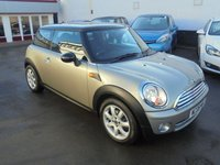 USED 2008 08 MINI HATCH COOPER 1.6 COOPER 3d 118 BHP