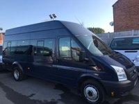 2013 FORD TRANSIT 2.2 430 H/R BUS 17 STR 134 BHP PRICE INCLUDES VAT JUST 61K FSH £9250.00